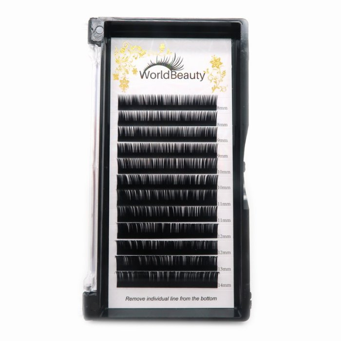 0.10mm B curl Classic eyelash extensions