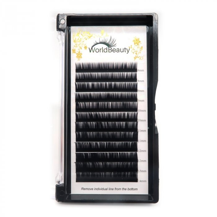 0.07mm B curl Volume eyelash extensions