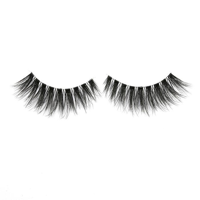 3D faux mink lashes clear band DA-05