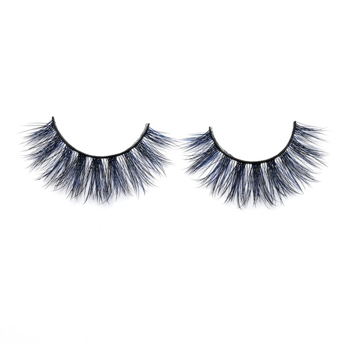 3D Colored  Korean silk lashes-59L