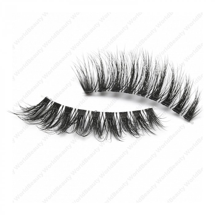 cc566ba1c4f 3D faux mink lashes clear band DA-05 - World beauty lashes-Biggest ...