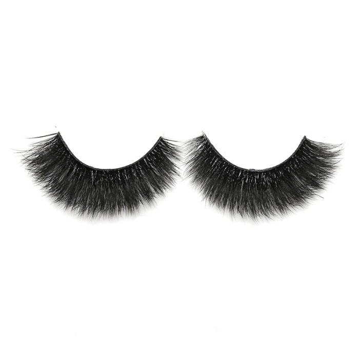 3D faux mink lashes clear band DA-01