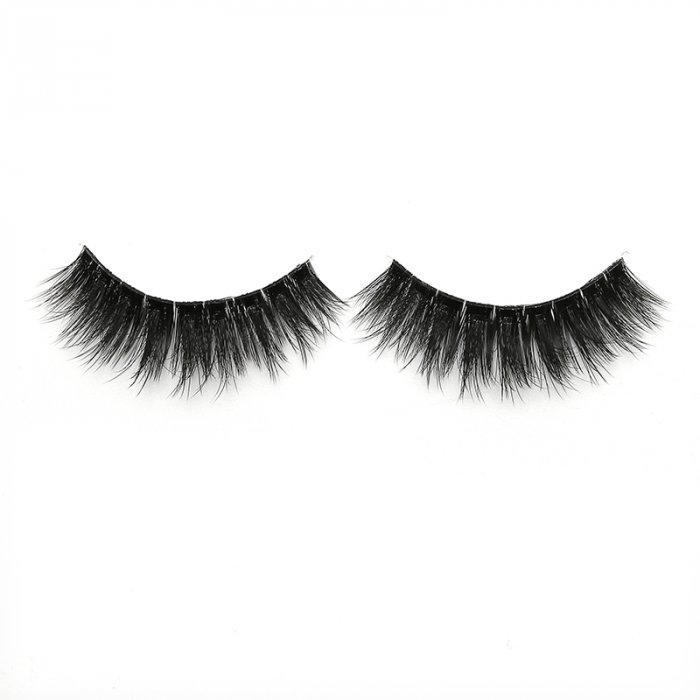 3D faux mink lashes clear band DA-06