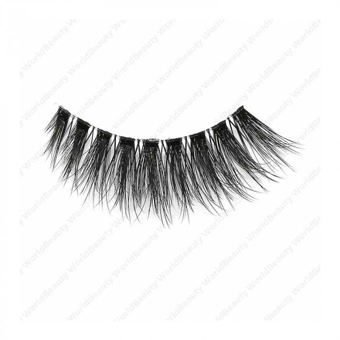 7e457548d72 3D faux mink lashes clear band DA-05 - World beauty lashes-Biggest eyelash  manufacturer in China | Mink effect 3D Faux Mink lashes supplier|Korean Silk  ...