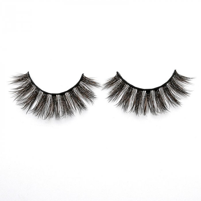 3D Colored  Korean silk lashes-58F