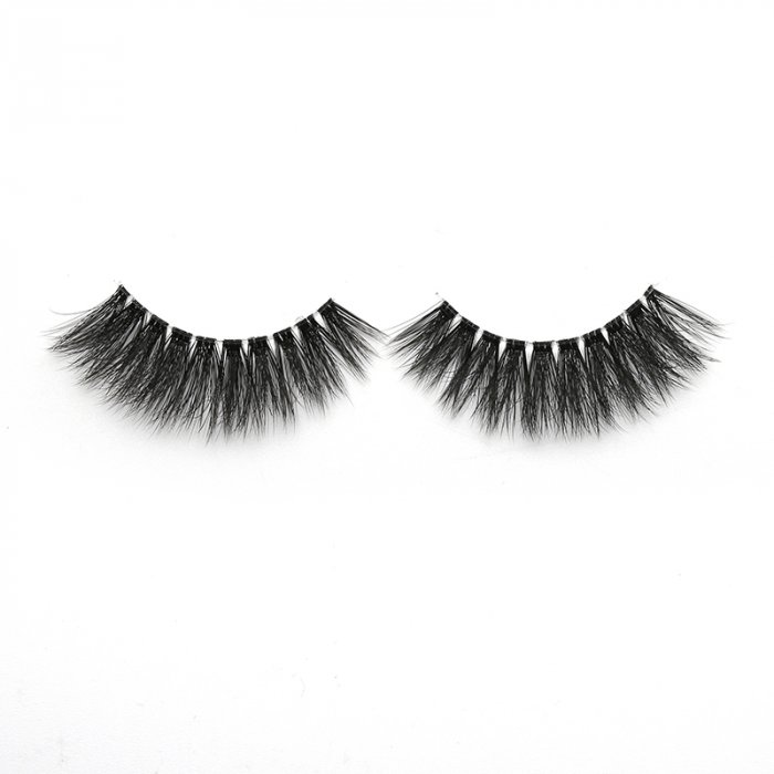 3D faux mink lashes clear band DA-13