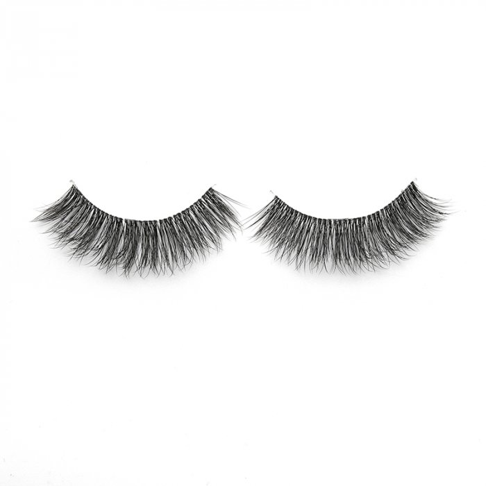 3D faux mink lashes  clear band DA-11