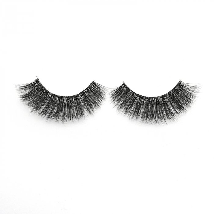 3D faux mink lashes clear band DA-10