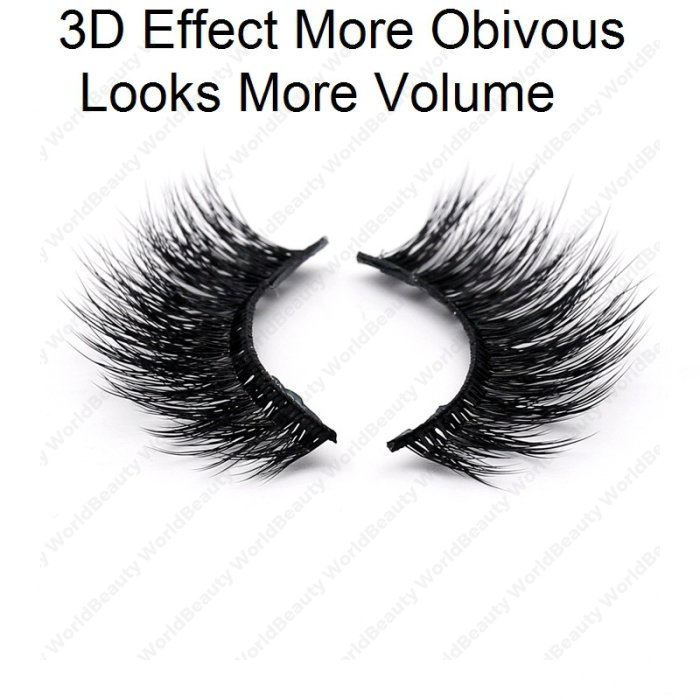 3D silk effect lashes KS3D19