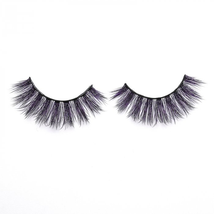 3D Colored  Korean silk lashes-058Z