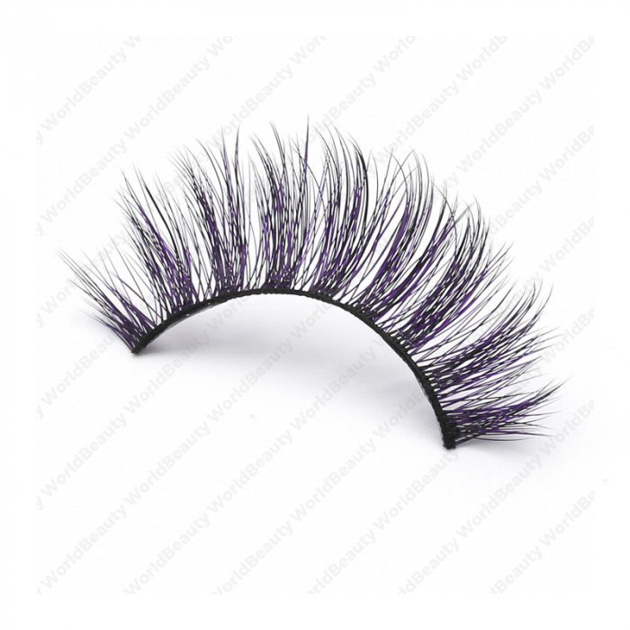82b0ebbe193 3D Colored Korean silk lashes-058Z - World beauty lashes-Biggest eyelash  manufacturer in China | Mink effect 3D Faux Mink lashes supplier|Korean  Silk lashes ...