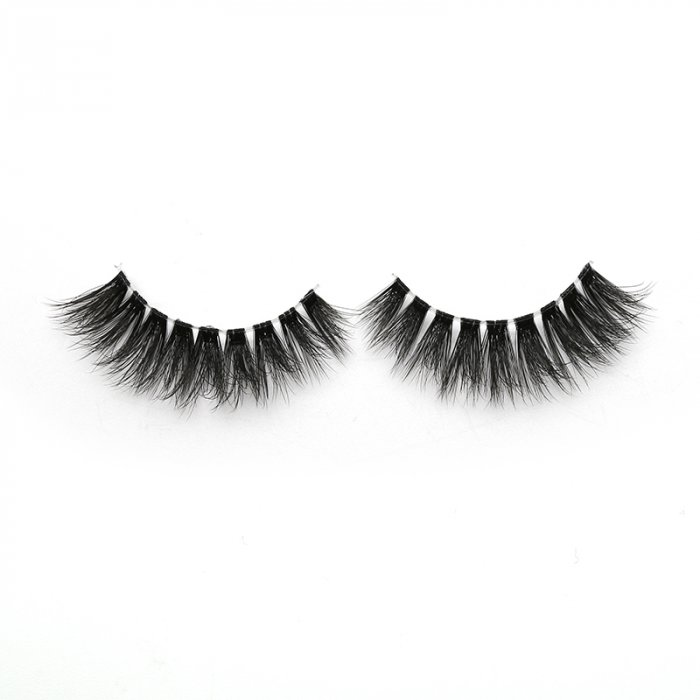 3D faux mink lashes clear band DB-04