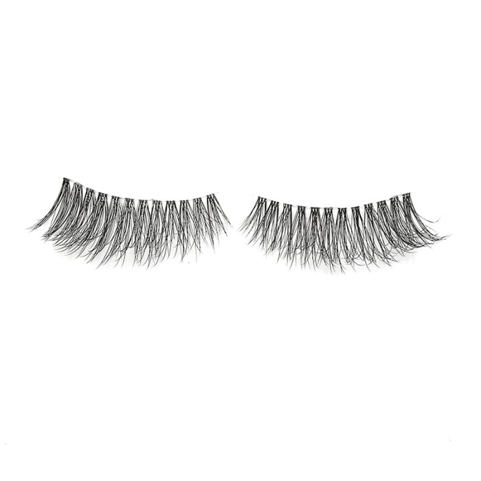 3D faux mink lashes clear band DB-10