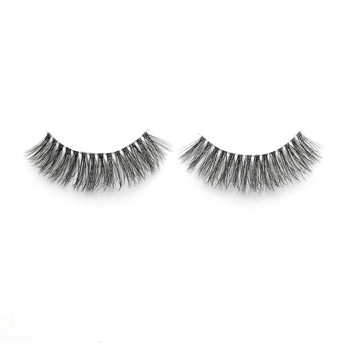 3D faux mink lashes clear band DB-16