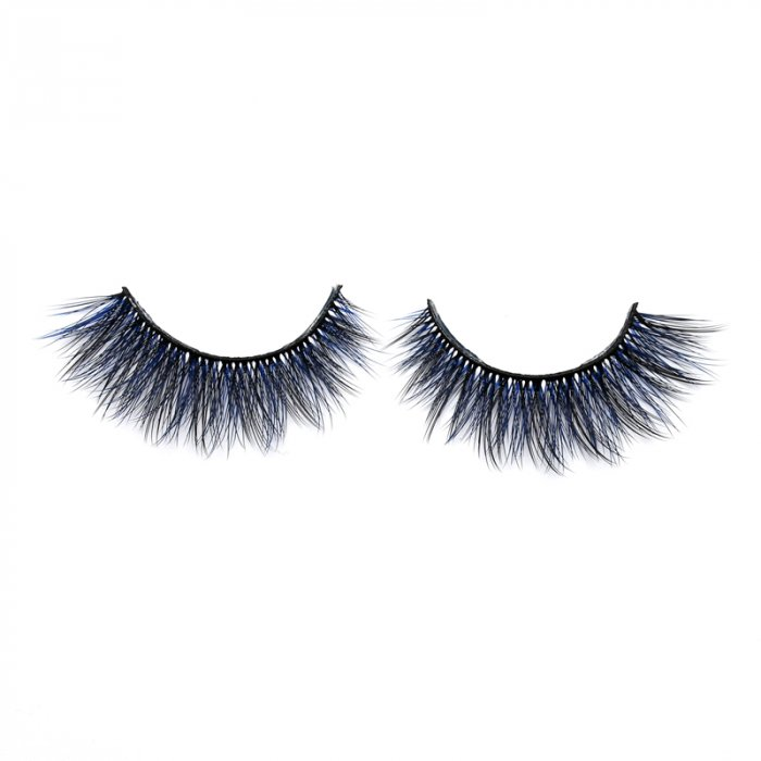 3D Colored  Korean silk lashes-KSAL