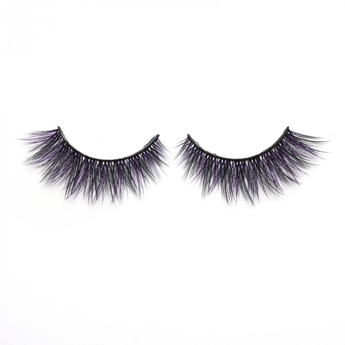3D Colored  Korean silk lashes-KSAZ