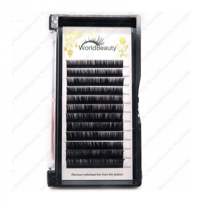 0.085mm C curl Volume eyelash extensions