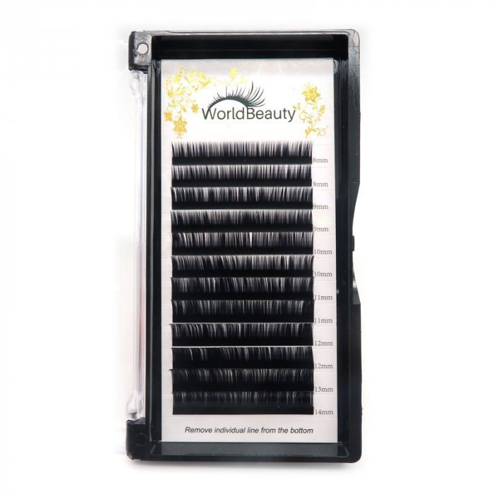 0.085mm B curl Volume eyelash extensions