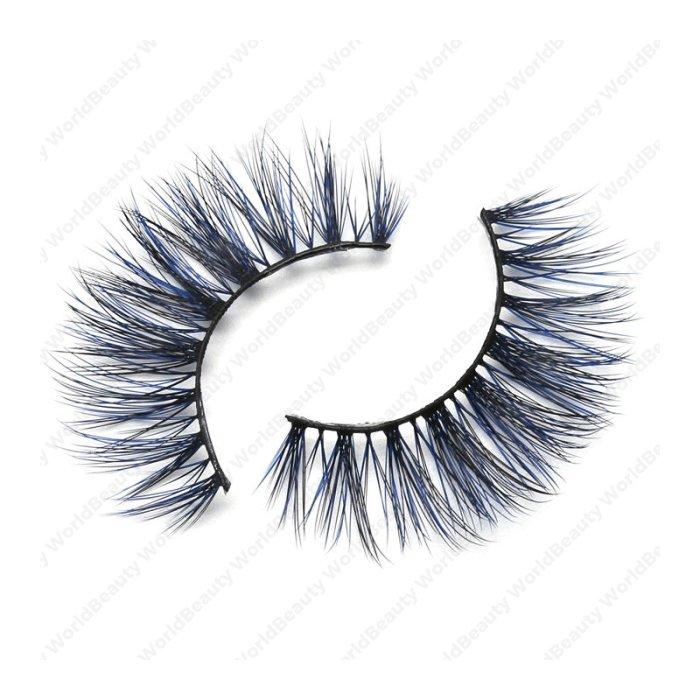 3D Colored Korean silk lashes-219L - World beauty lashes