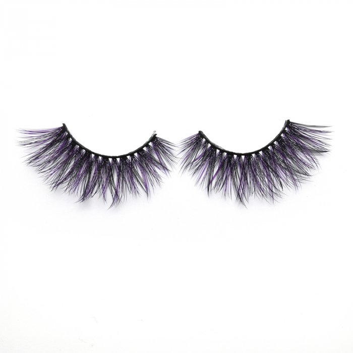 3D Colored  Korean silk lashes-230Z