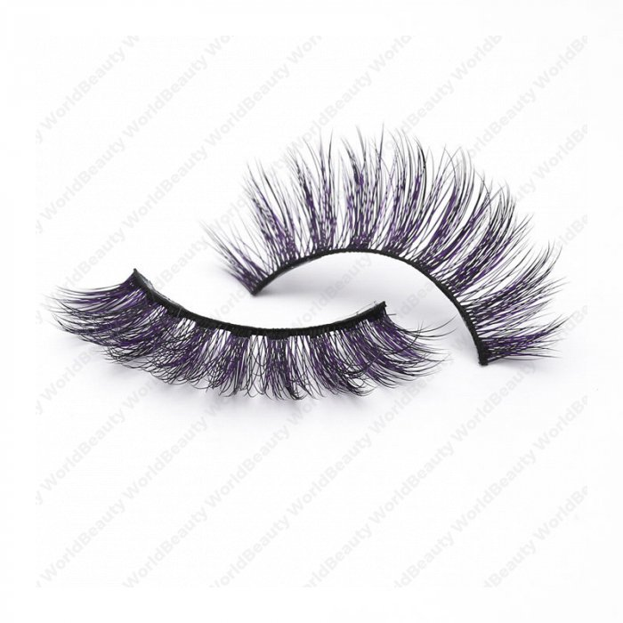 16a505041be 3D Colored Korean silk lashes-058Z - World beauty lashes-Biggest ...