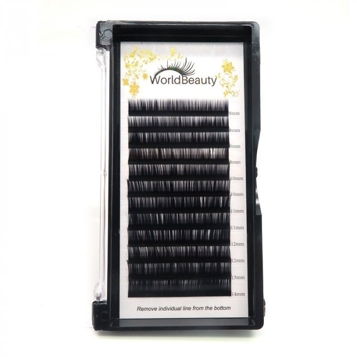 0.085mm J curl Volume eyelash extensions