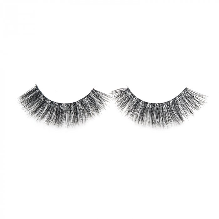3D faux mink lashes clear band DB-07