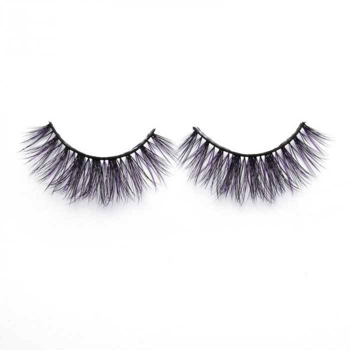 3D Colored  Korean silk lashes-219Z