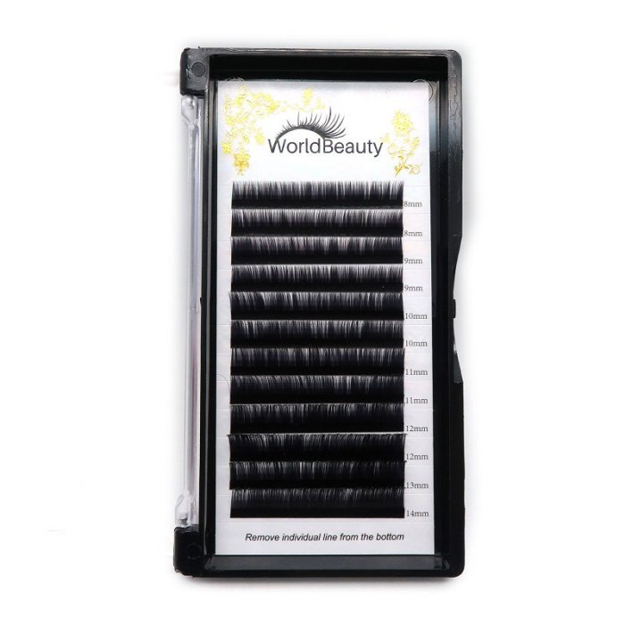 0.06mm B curl Volume eyelash extensions