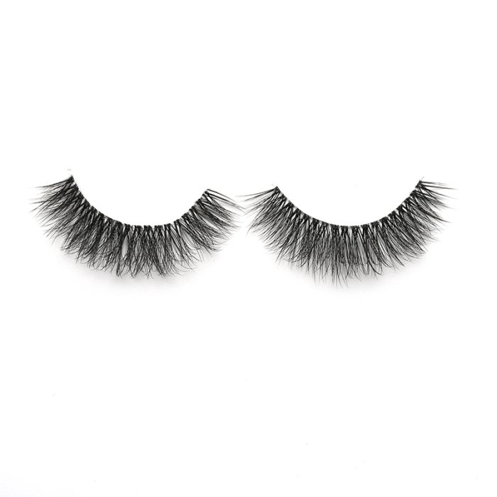 3D faux mink lashes clear band DB-24