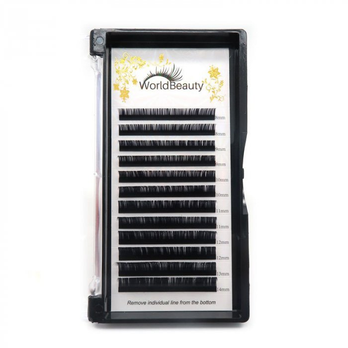 0.085mm D curl Volume eyelash extensions