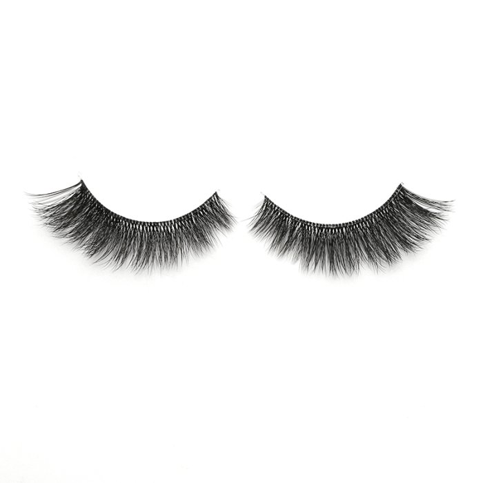 3D faux mink lashes clear band DB-19