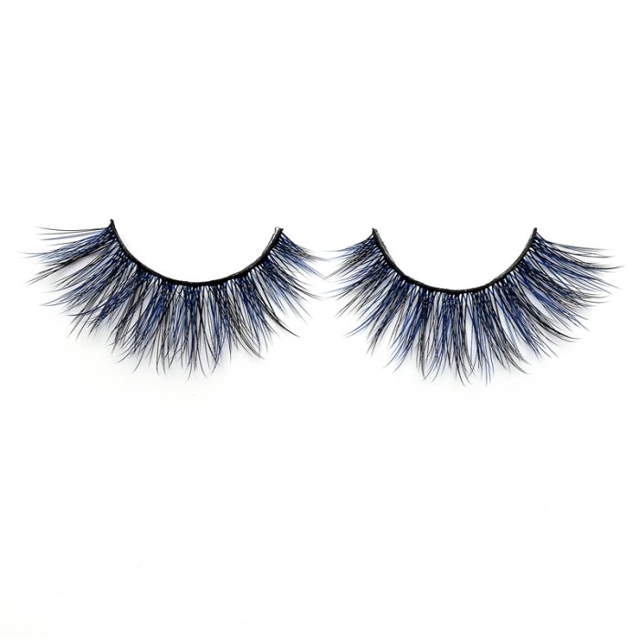 3D Colored  Korean silk lashes-S01L