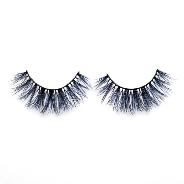 3D Colored  Korean silk lashes-219L
