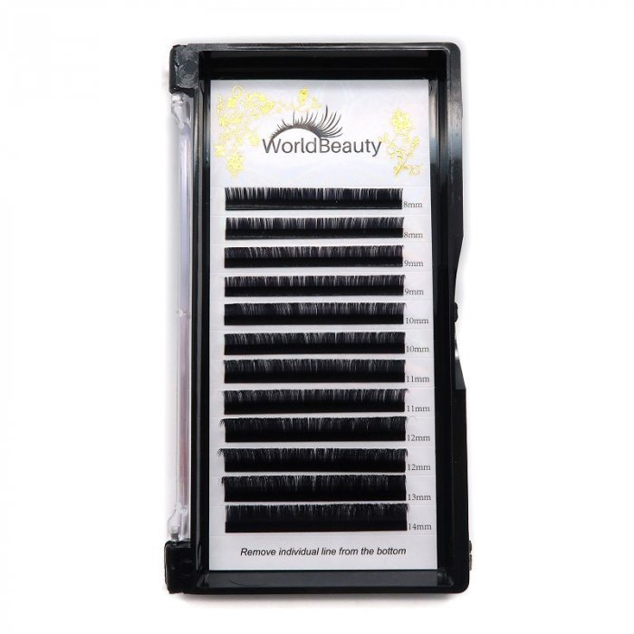 0.03mm D curl Volume eyelash extensions