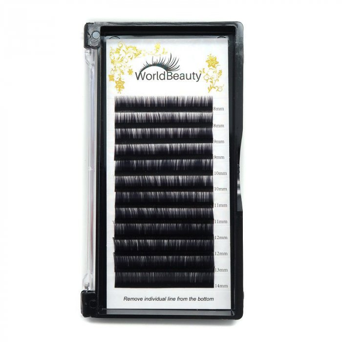 0.03mm J curl Volume eyelash extensions