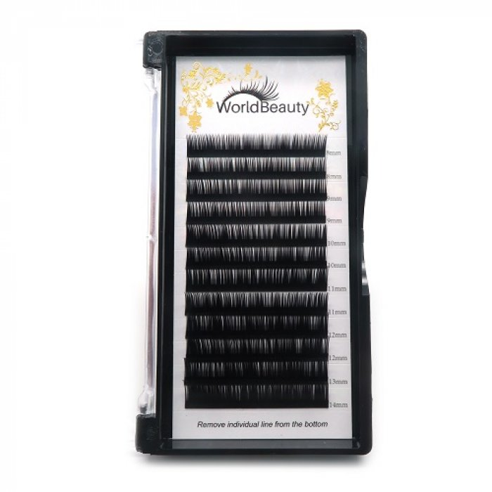 0.15mm J curl worldbeauty eyelashes extensions