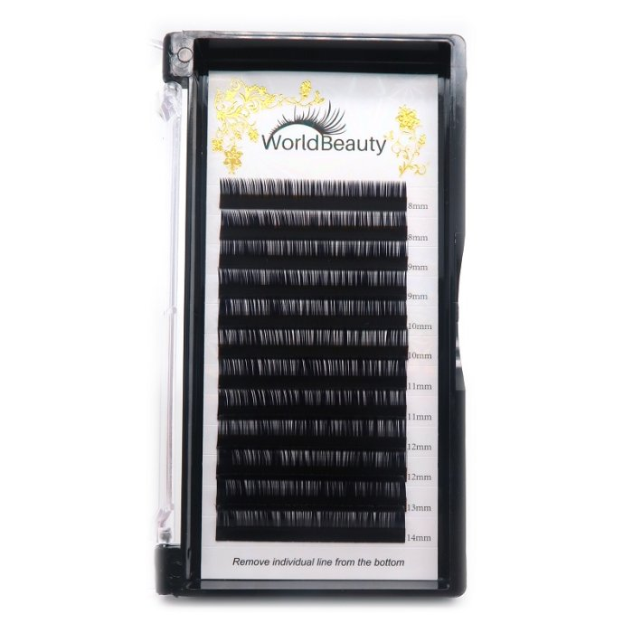 0.03mm L curl Volume eyelash extensions