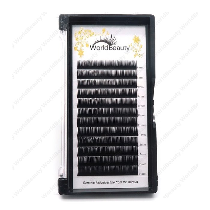 0.15mm B curl worldbeauty classic eyelashes extensions