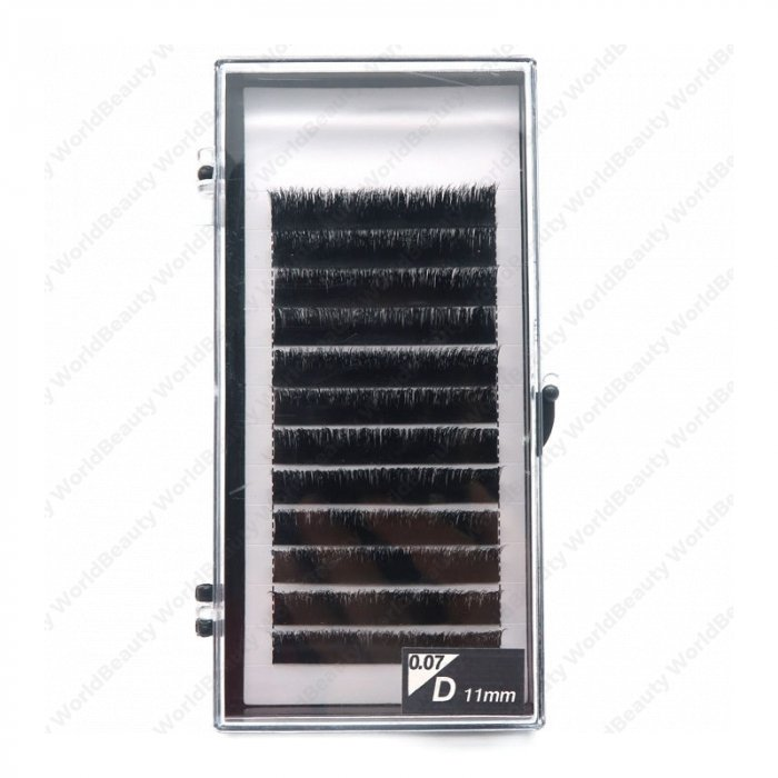 0.07mm D curl same length Auto Fan eyelash extensions