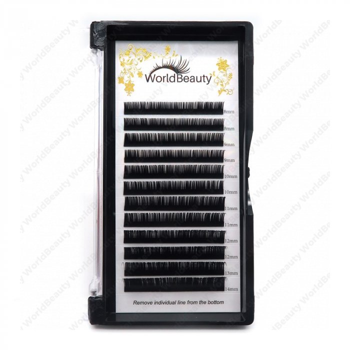 0.15mm C curl classic eyelashes extensions