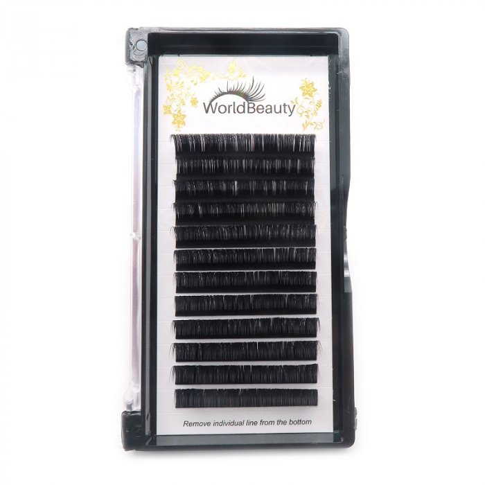 0.15mm O curl 16mm classic eyelashes extensions