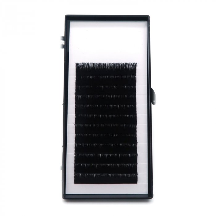 0.05mm C curl multi-length Auto fan eyelash extensions
