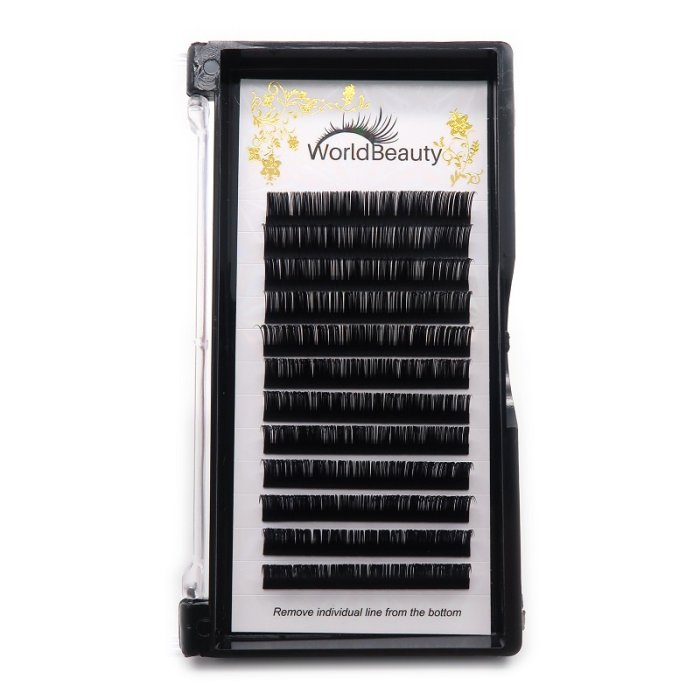 0.20mm D curl classic eyelashes extensions