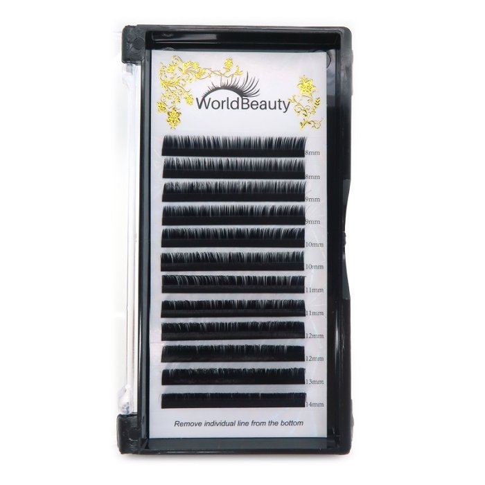 0.05mm M curl Volume eyelash extensions
