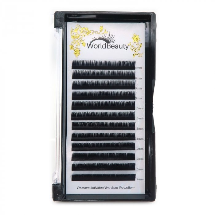 0.03mm M curl Volume eyelash extensions