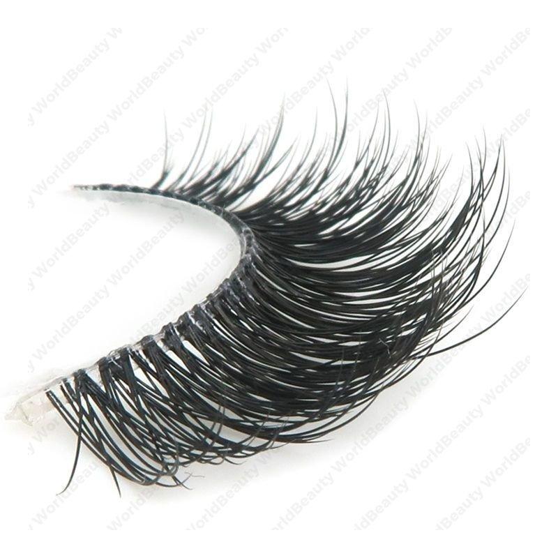 Wispy faux mink eyelashes,3D lashes,eyelashes factory