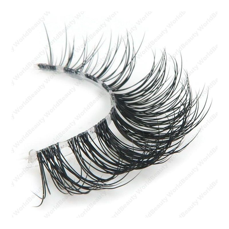 Jolie Beauty Lashes - Adrianna   Wispy Faux Mink Eyelashes