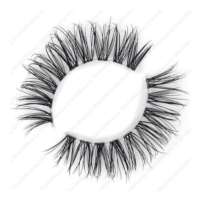Jolie Beauty Lashes - Ella | Wispy Faux Mink Eyelashes