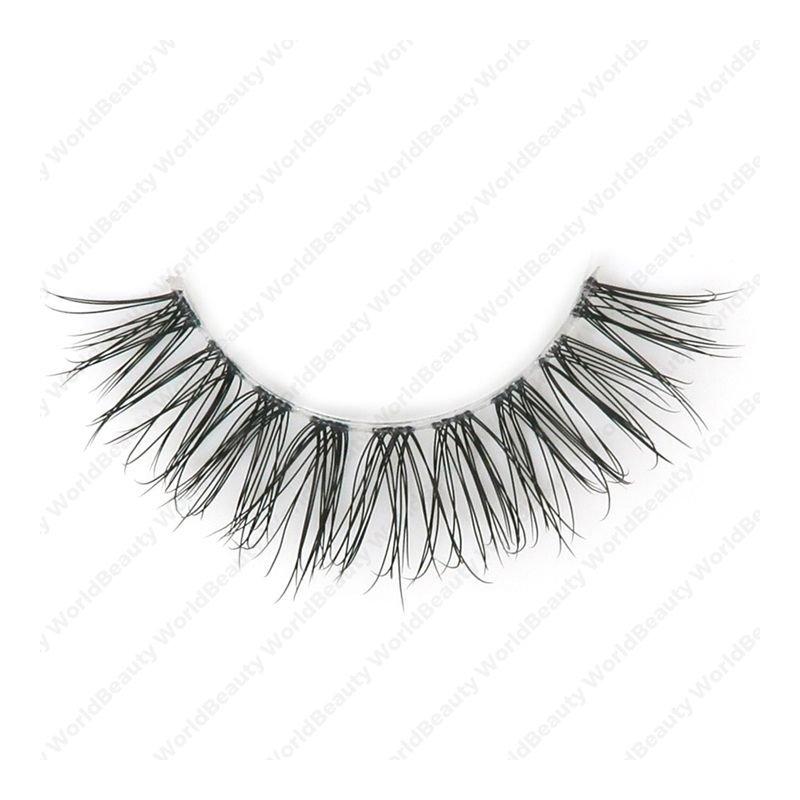 Wispy faux mink eyelashes,3D lashes|eyelashes factory